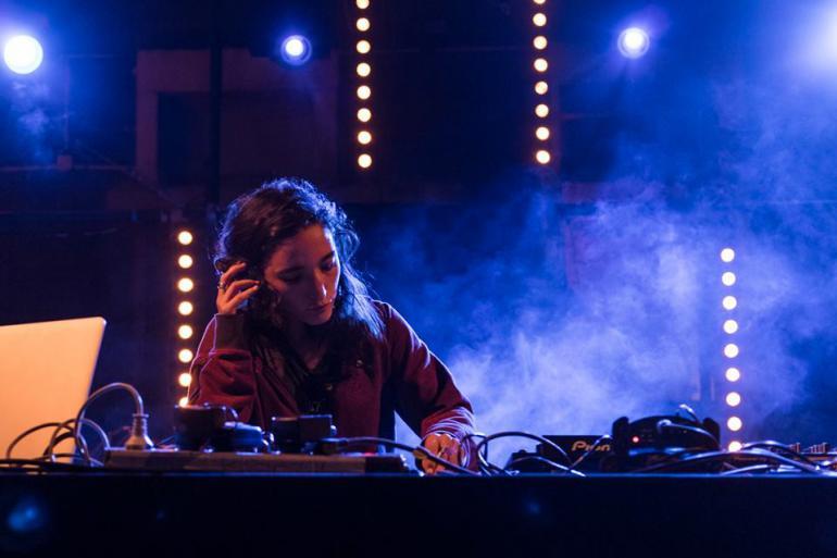 La première DJ palestinienne Sama Abdulhadi