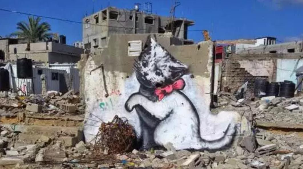 Banksy en Palestine : l'espoir redonné grâce à des œuvres d'art engagées